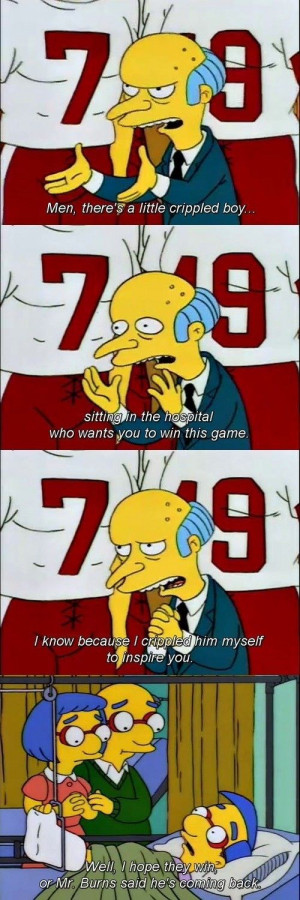 Oh mr burns Clips, quotes, DYK facts, funnies and the irresistibly ...