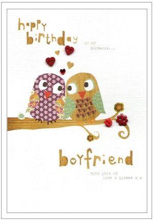 Happy birthday gorgeous boyfriend card