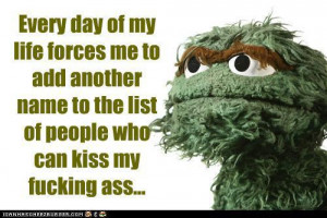 With all love & respect for Sesame Street & the important work it does ...