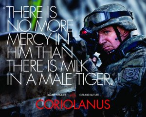 Exclusive: Shakespeare Goes to War in New 'Coriolanus' Promo Images