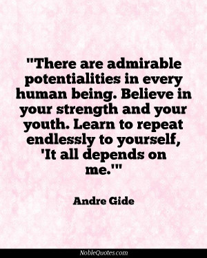 Andre Gide Quotes | http://noblequotes.com/