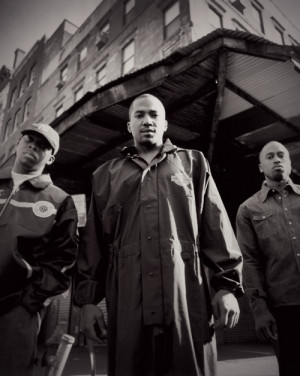 Black and White ali A Tribe Called Quest q-tip phife dawg Photograghy