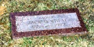 Zack Wheat Grave
