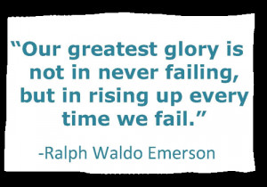 Failures Are Part Of Life…