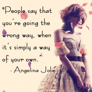 Quote of the Week: Angelina Jolie