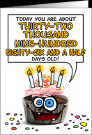 happy birthday - 90 years old card - Product #276362