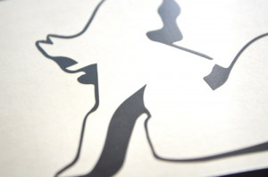 Borderlands Scooter Girl Logo - 4