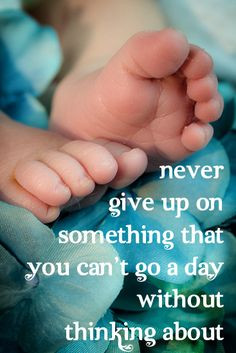 ... that you can't go a day without thinking about #infertility #ivf