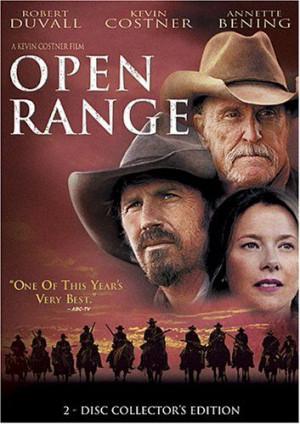 Open Range DVD ~ Kevin Costner, Robert Duvall.....I love the ...