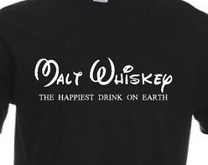 Malt Whiskey T-Shirt Joke Funny Tsh irt Tee Shirt Gift Parody ...