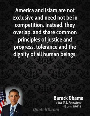 obama quotes islam