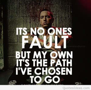 Eminem quotes on pictures