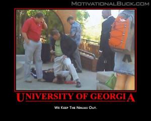 They won't dare Georgia to pass.