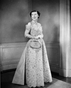 Mamie Eisenhower's inaugural gown Gowns 1957, 1957 Mamie, Eisenhower ...