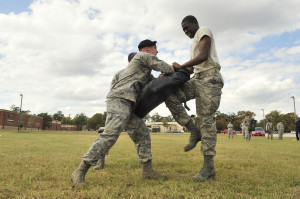 air force security forces training are both security forces