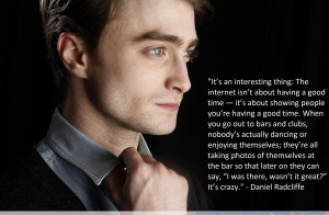 Daniel Radcliffe Quotes