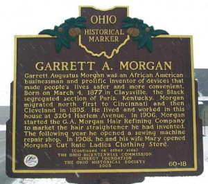 Ohio Historical Marker in Cleveland