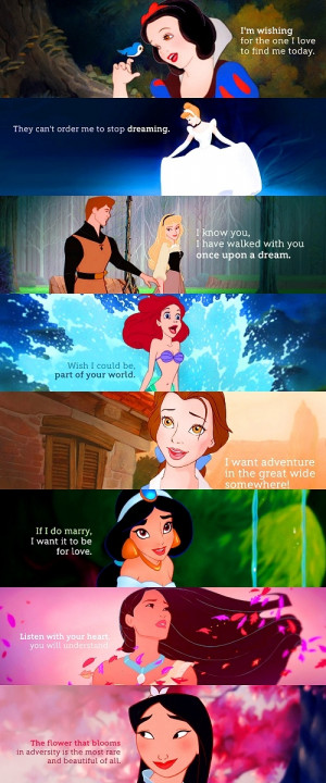 , Jasmine and Ariel were my favorites! I didn't care for Cinderella ...