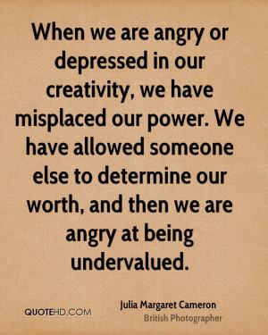 Julia Margaret Cameron Power Quotes