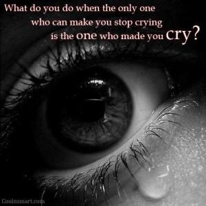 Crying Sad Quote sad quotes