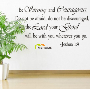 Christian Inspirational Quotes Vinyl Lettering Wall Stickers Decals ...