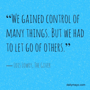 Quote Me Thursday Link-Up: 6 Mind-Blowing Quotes from The Giver