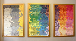 kara paslay designs: Spectrum Paint and Recycled Paint Chip Panels ...