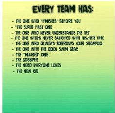 They're all on our team for sure! More