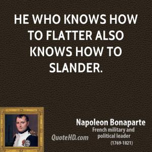 Napoleon Bonaparte Funny Quote