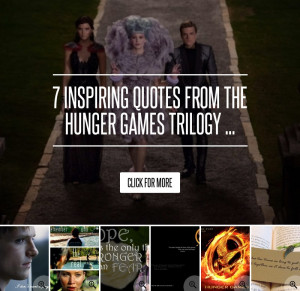 inspirational hunger games quotes quotesgram