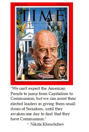 What?? A cautionary quote by Khrushchev on how incremental ...