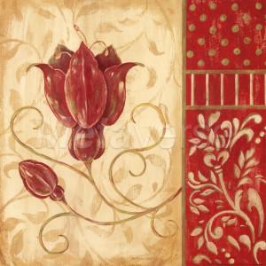 Red Tulip II by Jo Moulton art print