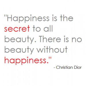 Christian Quotes About Happiness Christian dior quote