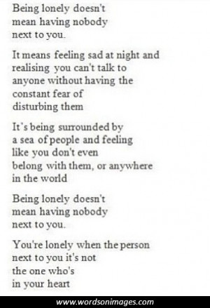 quotes about loneliness and isolation