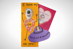 Only Have Eyes For You: Eye'd say this Valentine's Day card ...