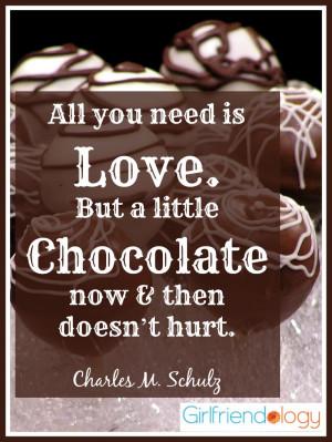 chocolate valentine quotes quotesgram
