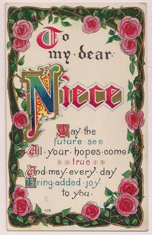 Quotes Happy Birthday Niece Happy Birthday Niece Facebook