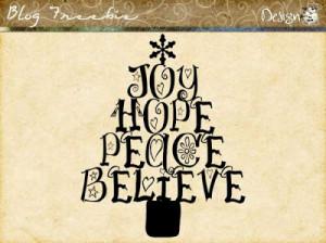 Wednesday SayingZ | Joy Hope Peace Believe