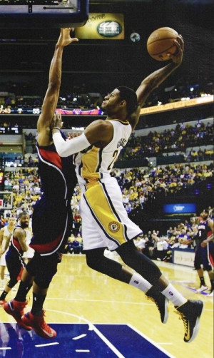 Paul George Most Improved Player Indiana Pacers