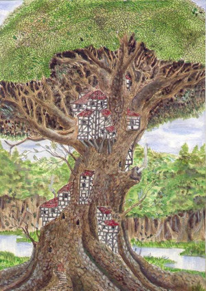 Tree Houses Pictures A