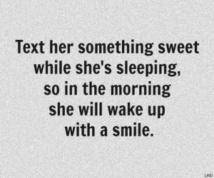 cute quotes for her to wake up to