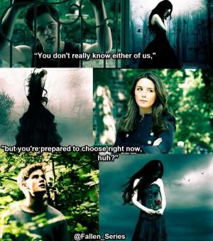 Fallen by Lauren Kate quote