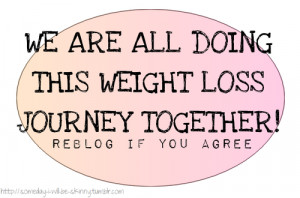 ... trying to lose weight. I just need to stay positive and keep going
