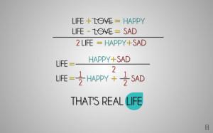 Life and mathematics