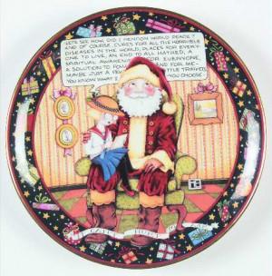 DANBURY MINT A Mary Engelbreit Christmas STOCK