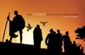 Home » Photos » Mahatma Gandhi Freedom fighter - Quotes