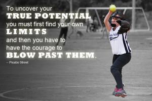 Inspiring Softball Quotes Inspirational photo contest