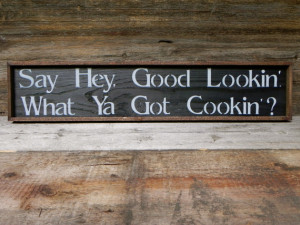 Kitchen Wall Decor, Handmade Wood Sign, Rustic Country Signs, Funny ...