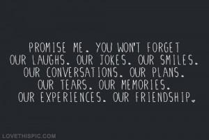 Promise quote