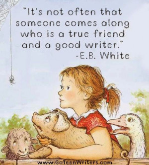 Go Teen Writers: E. B. White on Writer Friends